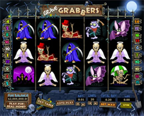 Screenshot of Grave Grabbers Casino Slot